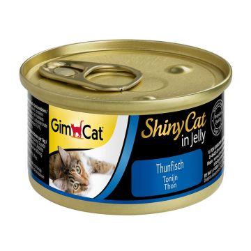 GimCat Dose ShinyCat Thunfisch 70g (Menge: 24 je Bestelleinheit)