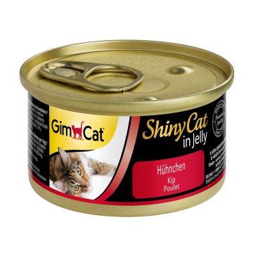 GimCat Dose ShinyCat Hühnchen 70g (Menge: 24 je Bestelleinheit)