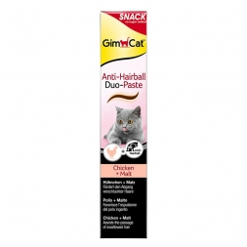 Gimpet Cat Anti-Hairball Duo Paste Huhn & Malz 50g