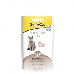Gimpet Cat Skin & Coat Tabs 40g