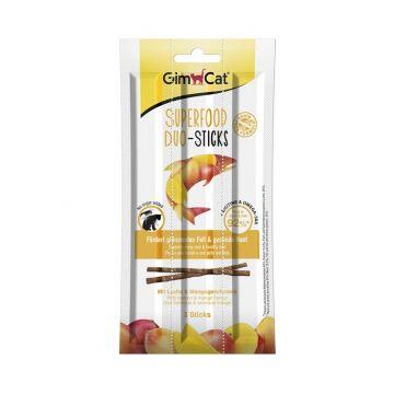 GimCat Superfood Duo-Sticks Lachs & Mango 3 Stück