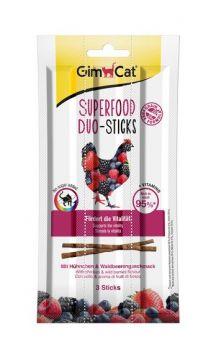 GimCat Superfood Duo-Sticks Huhn & Beere 3 Stück