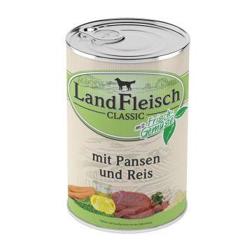 Landfleisch Dog Pur Pansen & Reis 400g (Menge: 12 je Bestelleinheit)