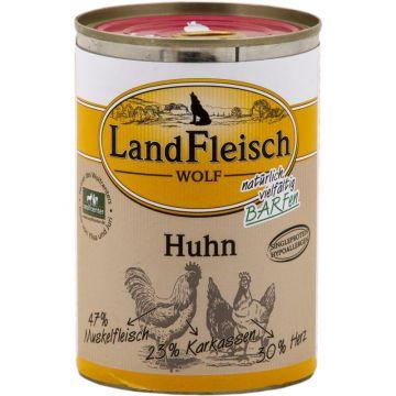 LandFleisch Wolf 100 % Fleisch vom Huhn 400g (Menge: 12 je Bestelleinheit)