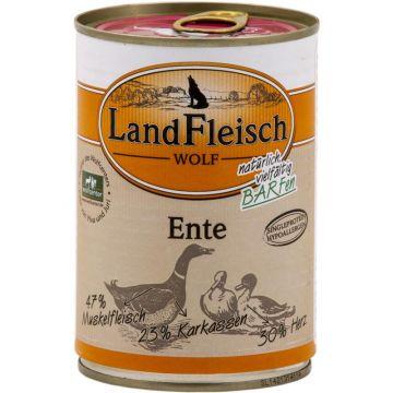 LandFleisch Wolf 100% Fleisch von der Ente 400g (Menge: 12 je Bestelleinheit)
