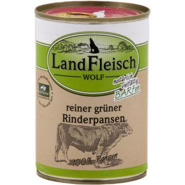 LandFleisch Wolf 100 % Fleisch aus Rinderpansen 400g (Menge: 12 je Bestelleinheit)