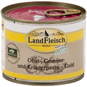 LandFleisch Wolf Obst-, Gemüse und Kräuterpesto Gold 200g (Menge: 12 je Bestelleinheit)