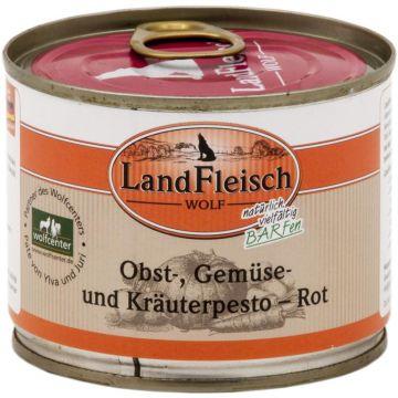 LandFleisch Wolf Obst-, Gemüse und Kräuterpesto Rot 200g (Menge: 12 je Bestelleinheit)
