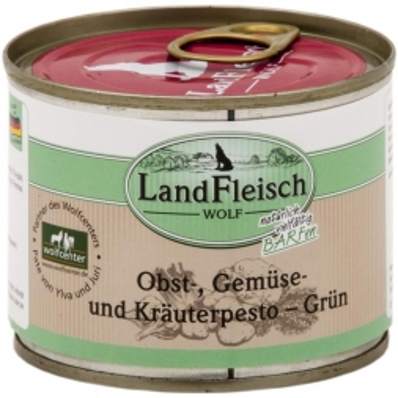 LandFleisch Wolf Obst-, Gemüse und Kräuterpesto Grün 200g (Menge: 12 je Bestelleinheit)