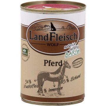 LandFleisch Wolf Sensibel 100% Fleisch vom Pferd 400g (Menge: 12 je Bestelleinheit)