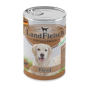 LandFleisch Dog Hypoallergen Pferd 400g (Menge: 12 je Bestelleinheit)