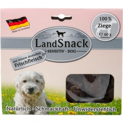 LandSnack Sensitiv Dog Ziege  60g