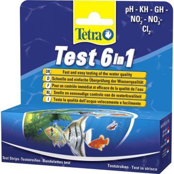 Tetra Test-Streifen 6 in 1,  25 St.