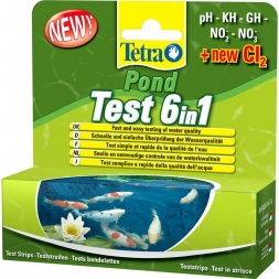 Tetra Pond Test 6 in1 25 St.