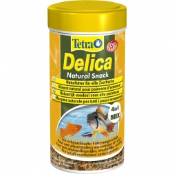 Tetra Delica Natural Snack 250 ml, 4in1 Mix