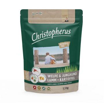 Christopherus Getreidefrei Welpe & Junghund mit Lamm & Kartoffel 1,5kg