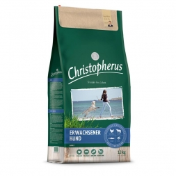 Christopherus Erwachsener Hund Geflügel, Lamm, Ei, Reis 12kg