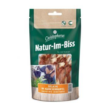 Christopherus Snack Natur-Im-Biss Seelachs im Hähnchenmantel 70g (Menge: 12 je Bestelleinheit)
