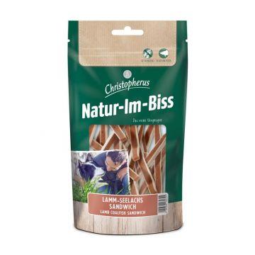 Christopherus Snack Natur-im-Biss Lamm Seelachs Sandwich 70g (Menge: 12 je Bestelleinheit)