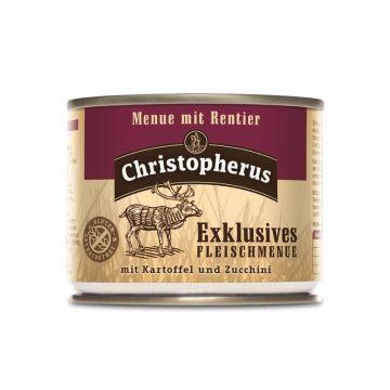 Christopherus Dose Menue mit Rentier 200g (Menge: 6 je Bestelleinheit)