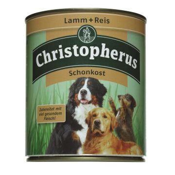 Christopherus Dose Lamm & Reis pur Schonkost 800g (Menge: 6 je Bestelleinheit)