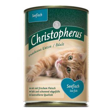 Christopherus Cat Dose Adult Seefisch 400g (Menge: 6 je Bestelleinheit)