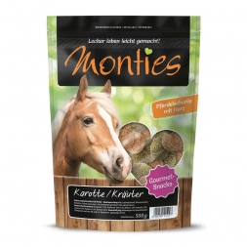 Monties Karotte/Kräuter-Snacks 500g (Menge: 6 je Bestelleinheit)