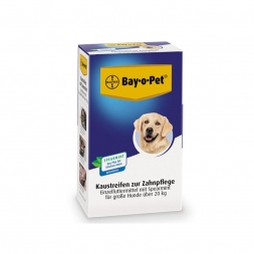 Bay·o·Pet Zahnpflege Kaustreifen Spearmint großer Hund 140g