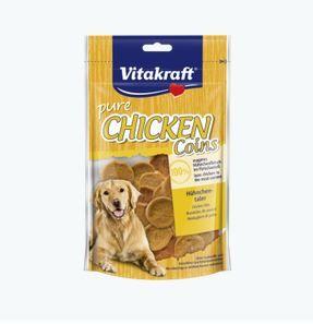 Vitakraft Snack Chicken-Hühnchentaler 80 g