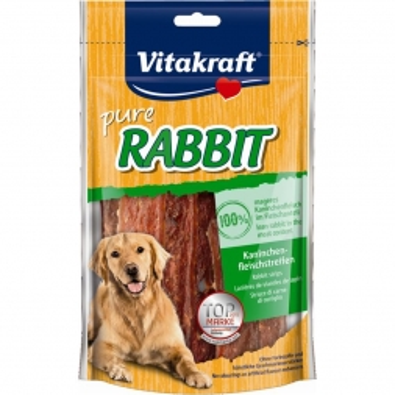 Vitakraft Dog Snack Rabbit Kaninchenfleischstreifen 80g