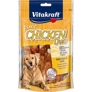 Vitakraft Snack Duo Hühnerfleisch mit Fisch 80 g