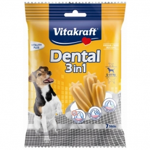 Vitakraft Dental 3 in 1 Größe: S, 5 - 10 kg, 7 Sticks