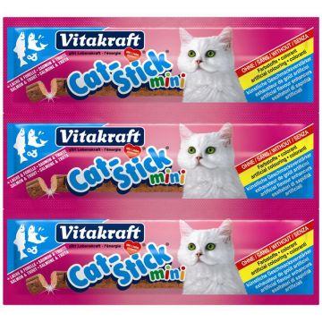 Vitakraft Cat-Stick mini Lachs & Forelle Inhalt: 3 Stück