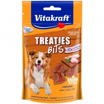 Vitakraft Treaties Bits Hühnchen Bacon Style 120 g