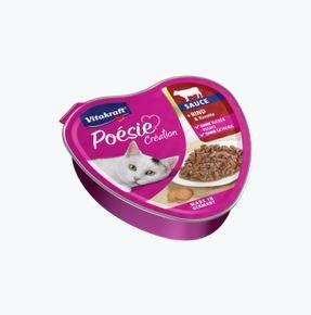 Vitakraft Poésie Sauce Rind + Karotte 85 g Schale