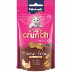Vitakraft Crispy Crunch Superfood Truthahn & Chia 60 g