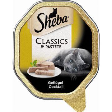 Sheba Schale Classics Geflügel Cocktail 85g (Menge: 22 je Bestelleinheit)