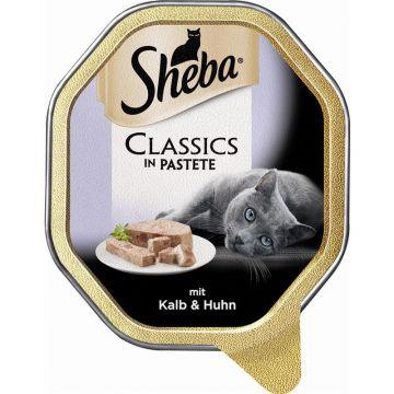 Sheba Schale Classics mit Kalb & Huhn 85g (Menge: 22 je Bestelleinheit)