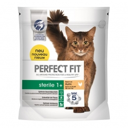 Perfect Fit Cat Pro-Sterile 1+ reich an Huhn 750g