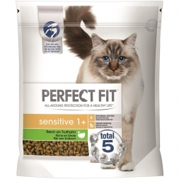 Perfect Fit Cat Sensitive 1+ reich an Truthahn 1,4kg