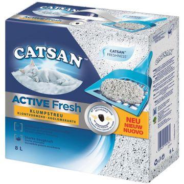 Catsan Active Fresh Klumpstreu 8 Liter