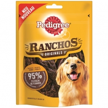 Pedigree Snack Ranchos mit Huhn 80g (Menge: 7 je Bestelleinheit)