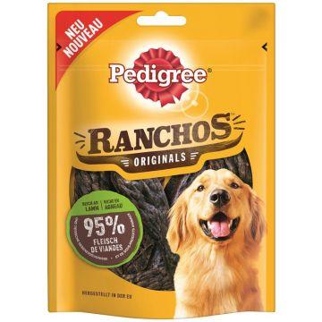 Pedigree Snack Ranchos mit Lamm 80g (Menge: 7 je Bestelleinheit)