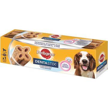 Pedigree Snack DentaStix 2 x wöchentlich mittelgroße Hunde 80g (Menge: 9 je Bestelleinheit)