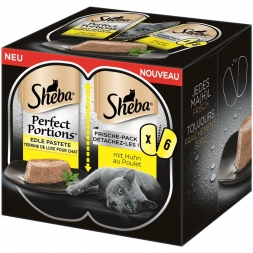 Sheba Perfect Portions mit Huhn 6x37,5g (Menge: 8 je Bestelleinheit)