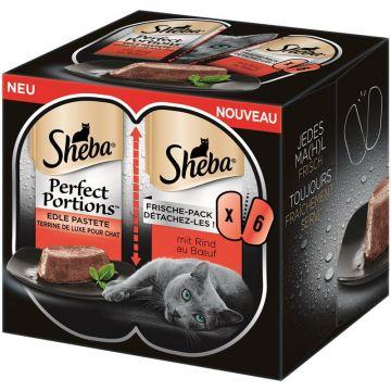 Sheba Perfect Portions mit Rind 6x37,5g (Menge: 8 je Bestelleinheit)