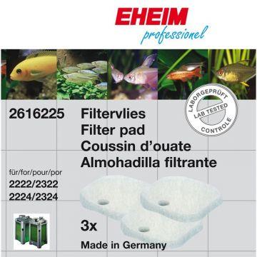 EHEIM Satz Filtervlies für 2222/2224, 2322/2324 und professionel 250 und 250T 3Stück