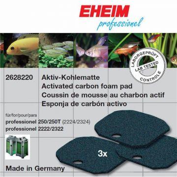 EHEIM Aktivkohlematte für Filter 2222/2224, 2322/2324 und professionel 250 und 250T 3Stück