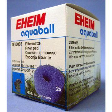 EHEIM Filtermatte für Filterbox Innenfilter 2208 - 2212, aquaball 60 - 180 2 Stück
