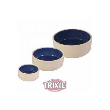 Trixie Keramiknapf 2,1 l  23 cm, creme blau